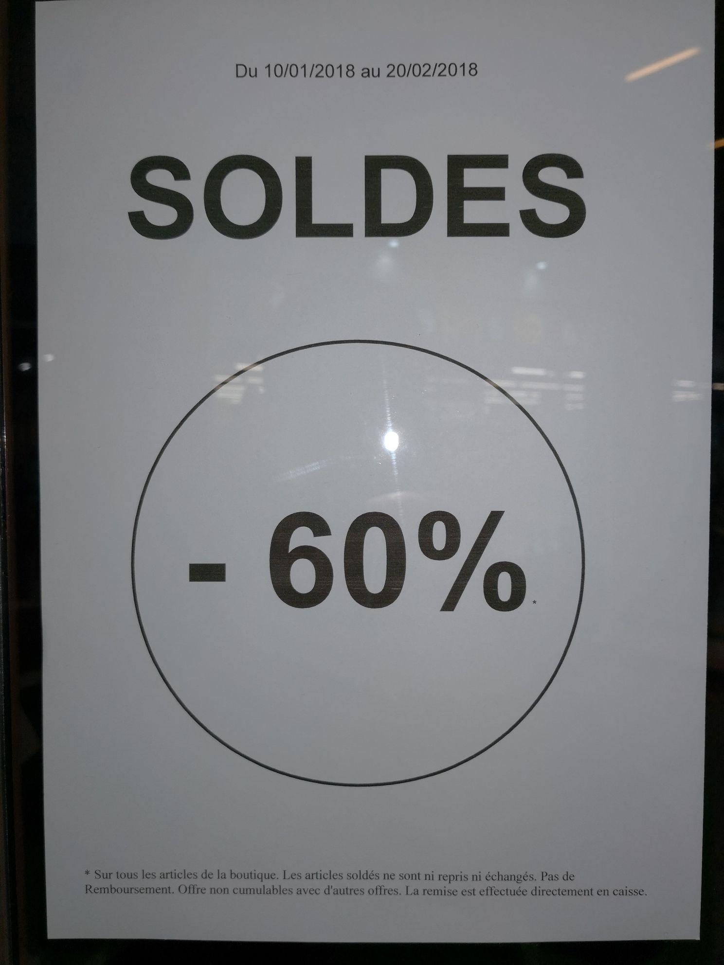 60% de réduction sur toute la boutique Natur&Design - Ex : Sac à main Lancaster à 80€ au lieu de 200€ - Natur'Design Neydens (74)