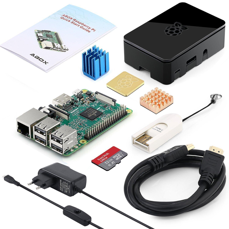Kit de démarrage Globmall ABox Raspberry Pi 3 Modèle B (vendeur tiers)