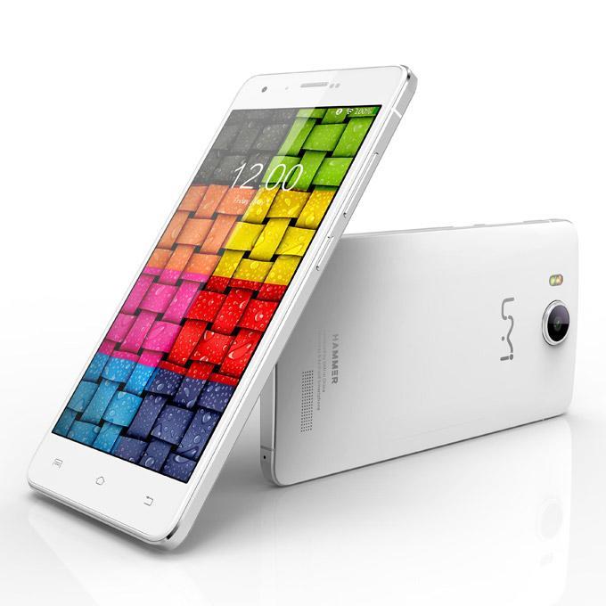 "Smartphone 5.0"" UMI Hammer Blanc (Incassable - Quad Core 1,5Ghz - 2Go RAM - 16Go - HD - 4G - Double SIM)"