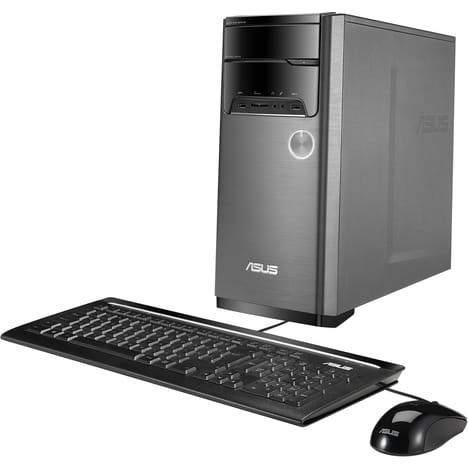 Unité centrale Asus M32CD-K-FR067T - i5-7400, GTX 1050, HDD 1 To, RAM 4 Go, Windows 10