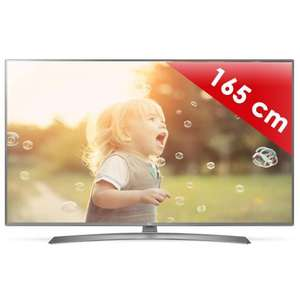 "TV 65"" LG 65UJ670V - LED, 4K UHD, HDR, Smart TV"