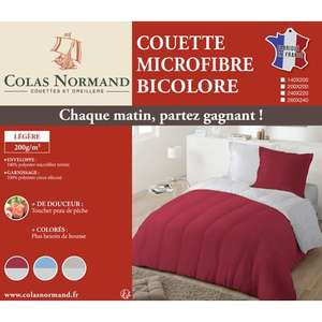 Couette légère microfibre Colas Normand - 140x200cm