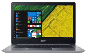 "PC Portable 14"" Acer Swift 3 SF314-52 - Full HD, i5-7200U, RAM 8 Go, SSD 256 Go, MX150"