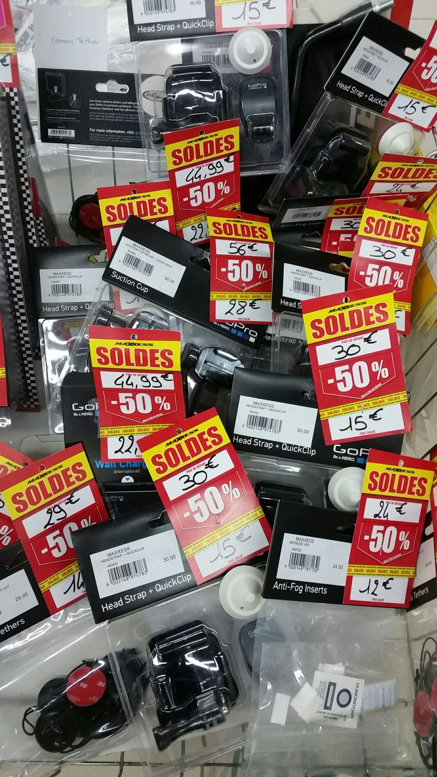 50% de réduction sur des Accessoires GoPro - Maxxess Tours (37)
