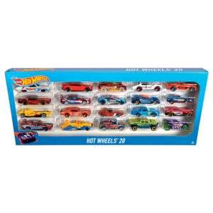 Pack de 20 voitures Hot Wheels H7045