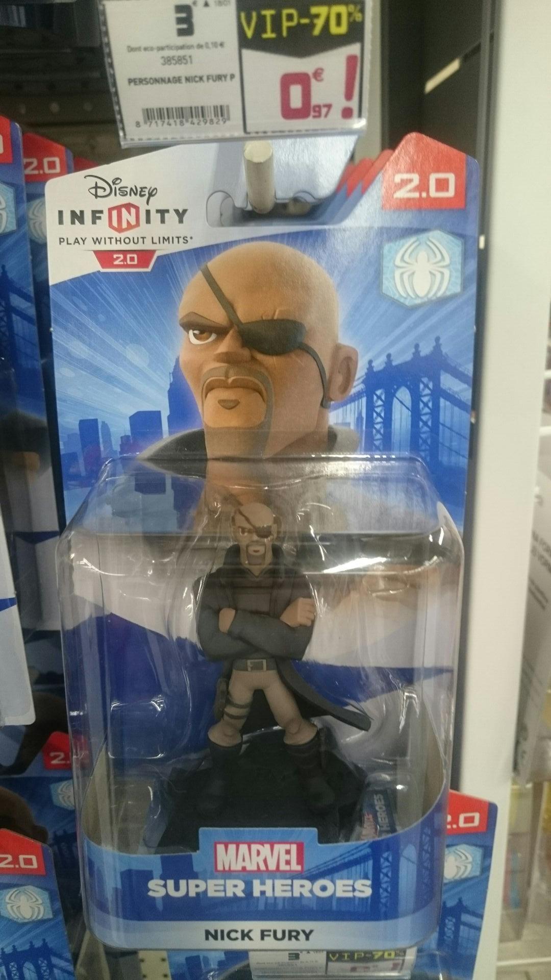 Figurine Disney Infinity 2.0 ou 3.0 en soldes - Ex : Figurine Nick Fury - Gifi