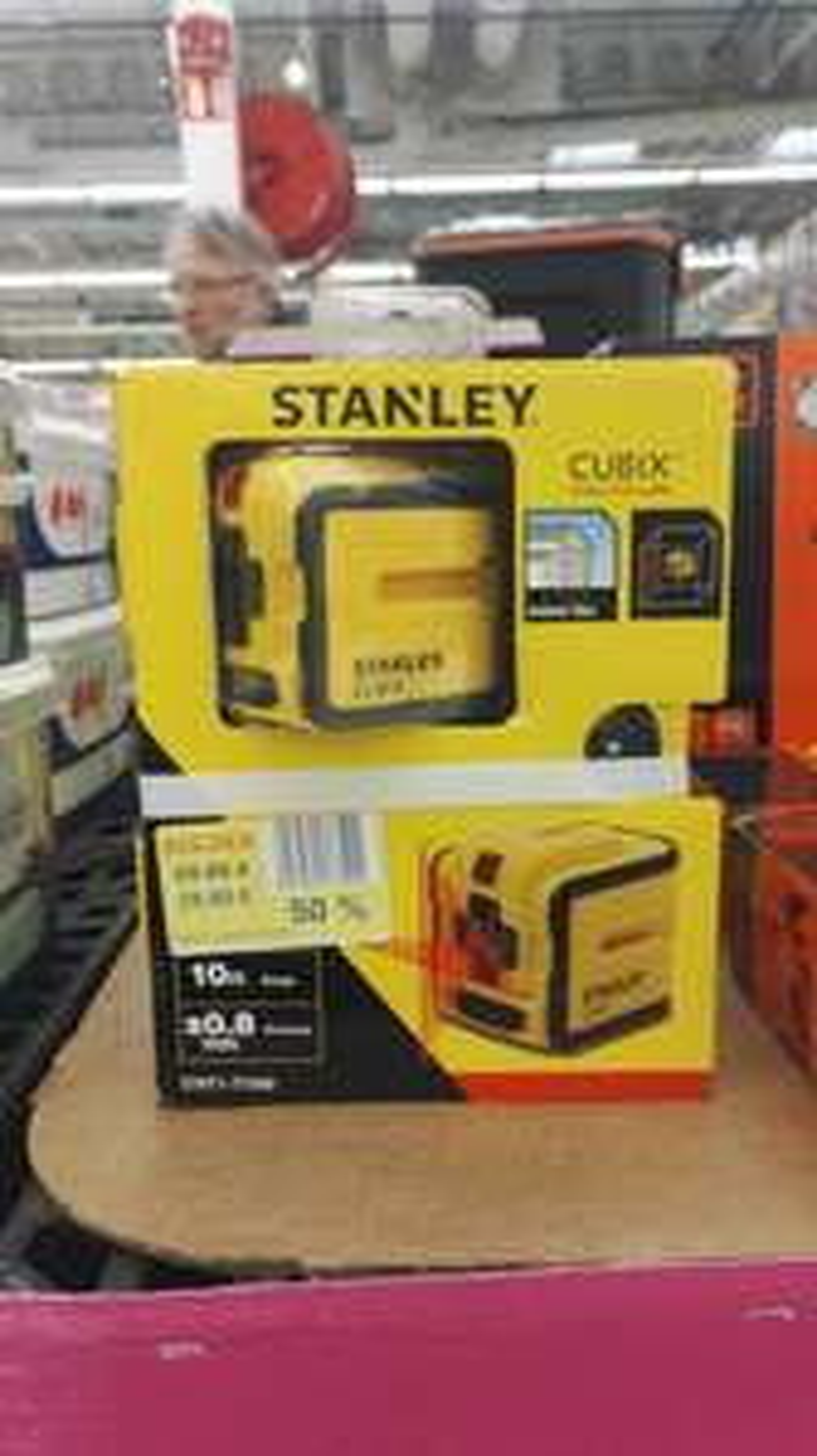 Laser Stanley Cubix STHT1-77340 au carrefour de Merignac (33)