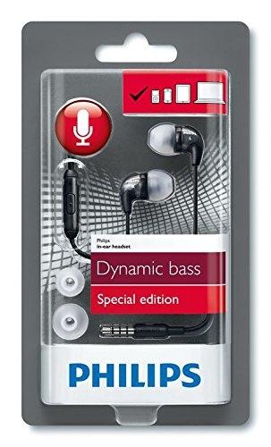 Écouteurs intra-auriculaires Dynamic Bass Philips TCH310 avec micro et télécommande intégrés