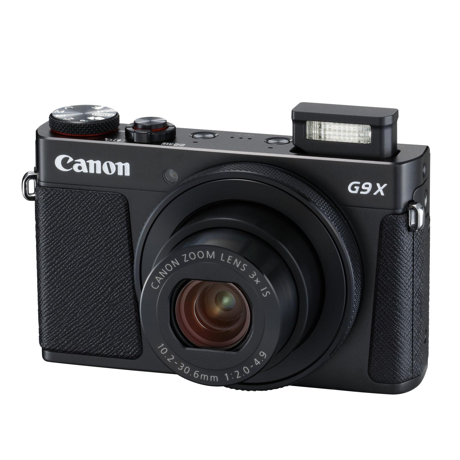 Appareil Photo Numérique Compact Canon PowerShot G9 X Mark II - 20.1 MP (Noir)