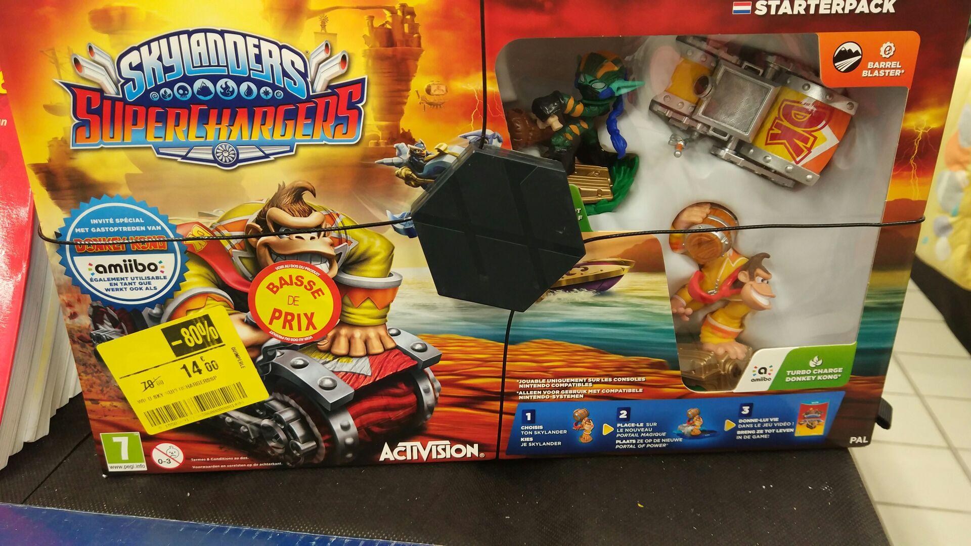 Skylanders superchargers sur Wii U - Quimperlé (29)