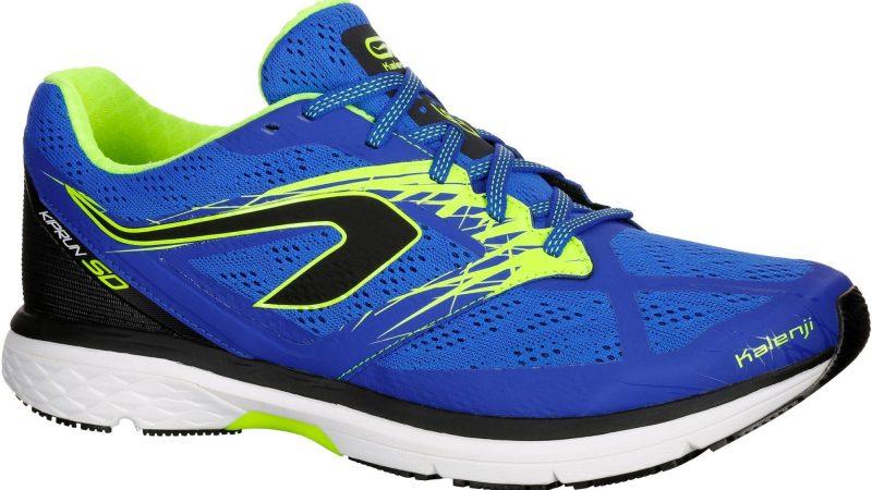 Chaussures de running Kalenji Kiprun SD - bleu ou jaune chez Decathlon Valence (26)
