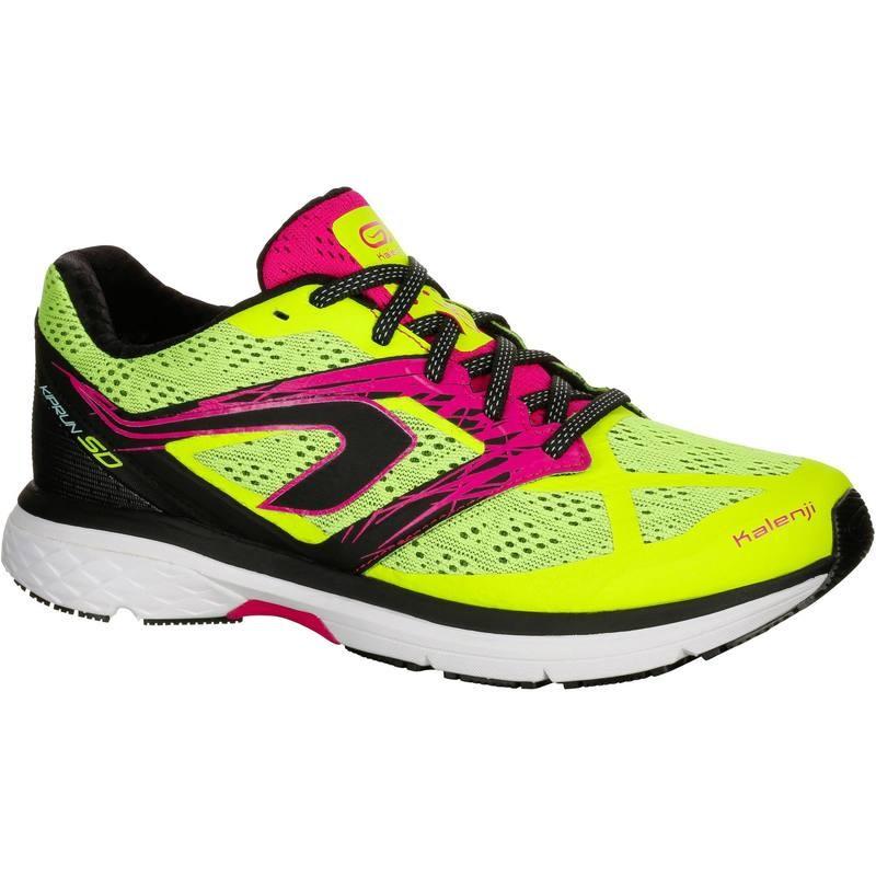 Chaussures de running Kalenji Kiprun SD - jaune / rose (du 37 au 40)
