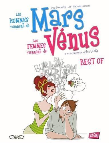 Bande dessinée Les hommes viennent de Mars les femmes viennent de Vénus version 48h de la BD 2015