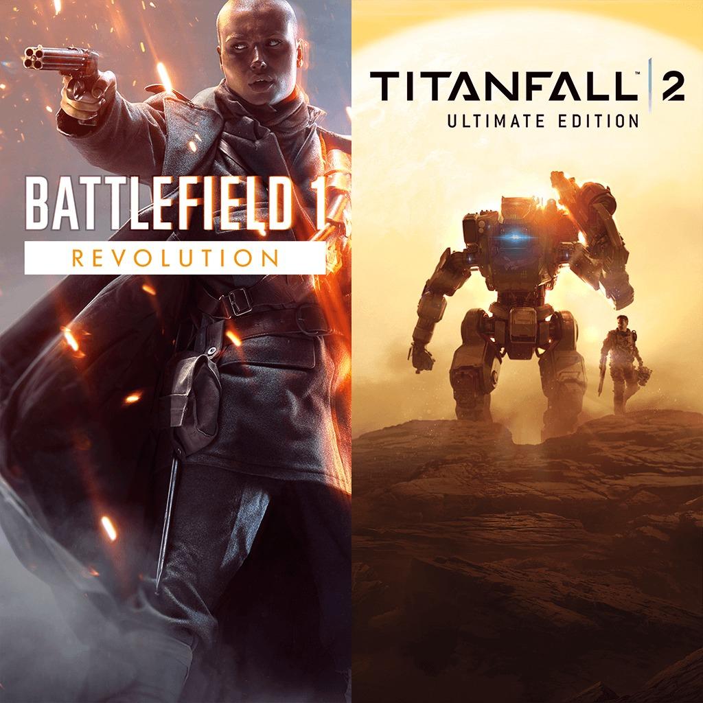 Sélection de jeux en promotion - Ex: Battlefield 1 Revolution + Titanfall 2 Ultimate Edition sur PC (Dématérialisé)