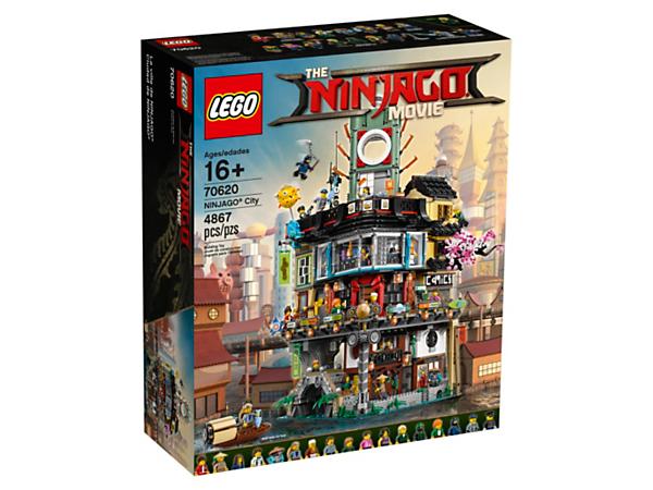 Jeu de construction Lego Ninjago La ville  n° 70620
