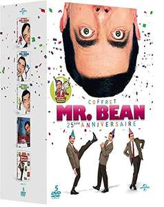Coffret DVD : Mr Bean volume 1 à 3 + Bean le film