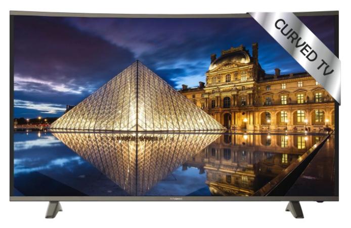"TV 49"" Polaroid TRC49UHDP - 4K UHD, Incurvée"