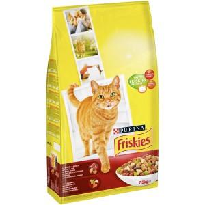 2 Paquets de croquettes pour chat Friskies - 2x7.5Kg