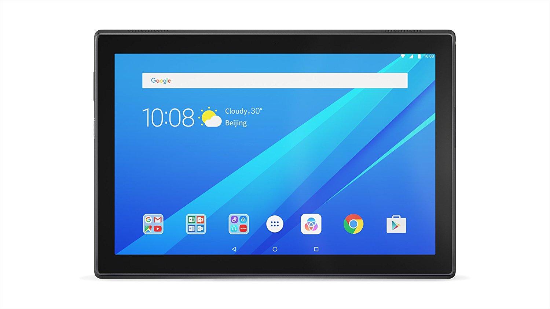 """Tablette tactile 10,1"""" Lenovo TAB 4 X704F - Full HD, RAM 4 Go, SSD 64 Go, Noir"""