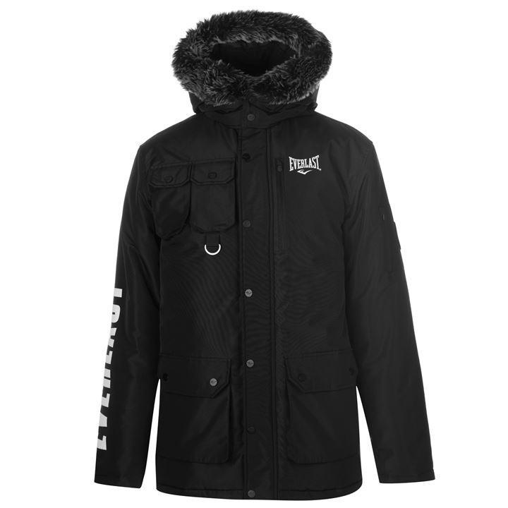 Manteau Everlast Long Fur pour Hommes - Tailles & Coloris au choix