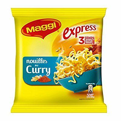 [Précommande] Lot de 10 Paquets de Nouilles Maggi Express au Curry - 10 x 71g