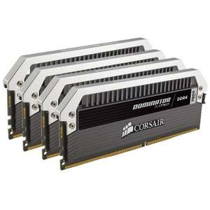Kit Mémoire Corsair PC Dominator Platinum DDR4 - 32Go (4 x 8Go), 2800MHz, C16