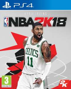 NBA 2K18 sur PS4 ou Xbox One