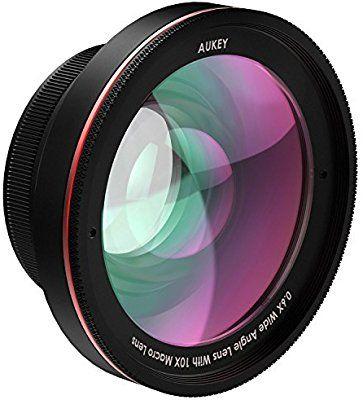 Aukey PL-WD05 Kit de 10 X Objectif Macro avec 0.6 X Objectif grand angle à 100 Degrés lentille (vendeur tiers)