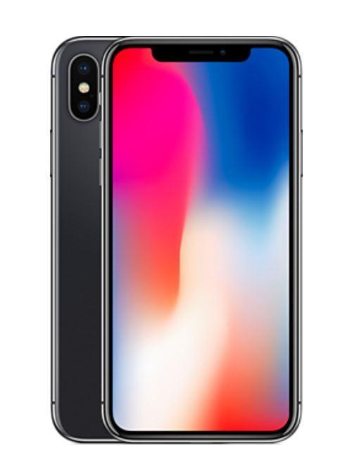 "Smartphone 5.8"" Apple iPhone X  Gris Sidéral - 64 Go (vendeur tiers)"