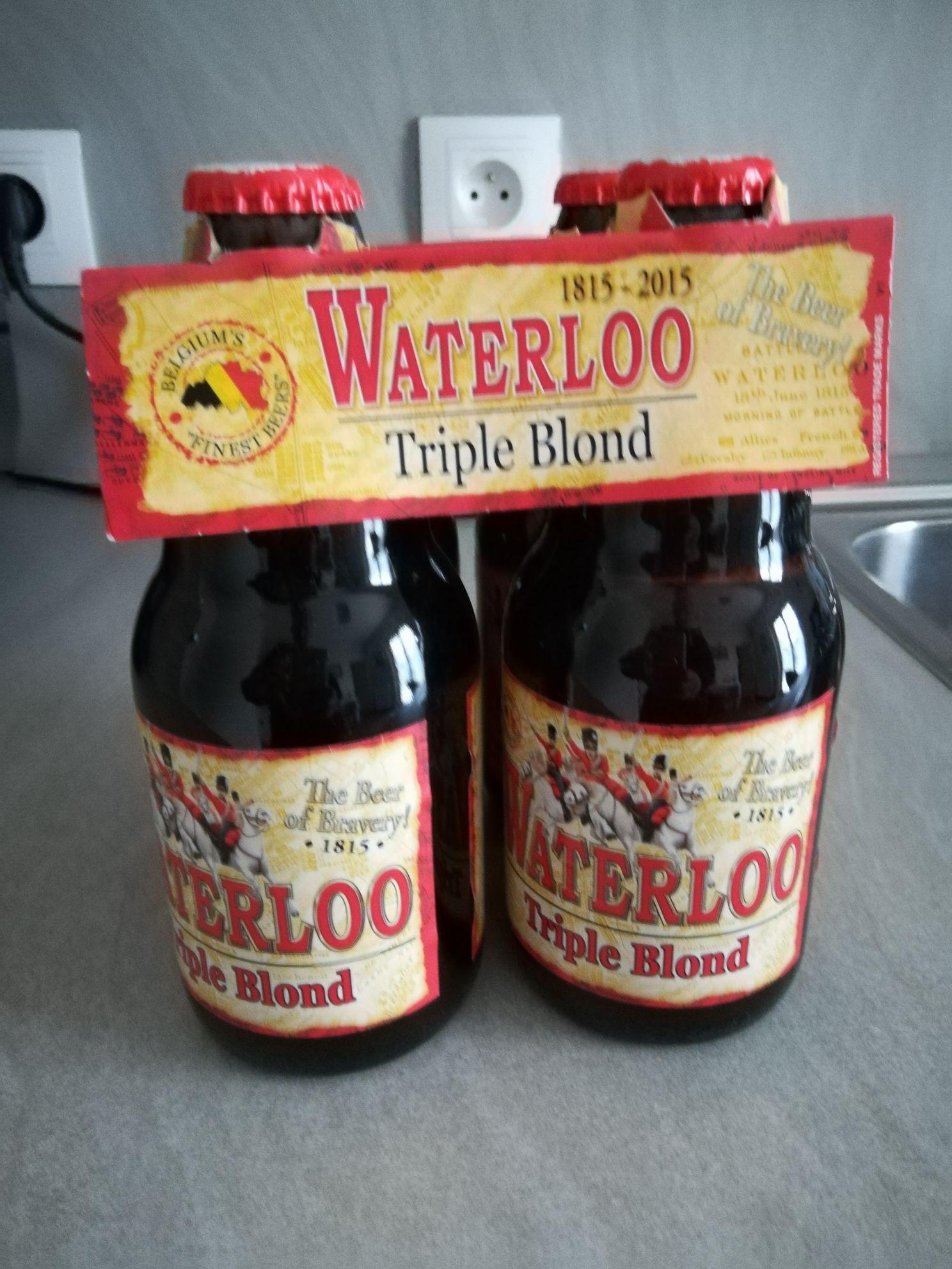 Bière triple blonde Waterloo - 4 x 33 cl - Marolles-en-Hurepoix (91)