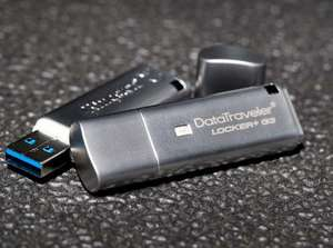 Clé USB Kingston DT Locker+ G3 - 64 Go