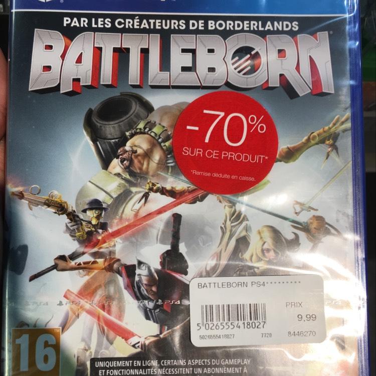 Battleborn sur PS4 - Lyon Part Dieu (69)
