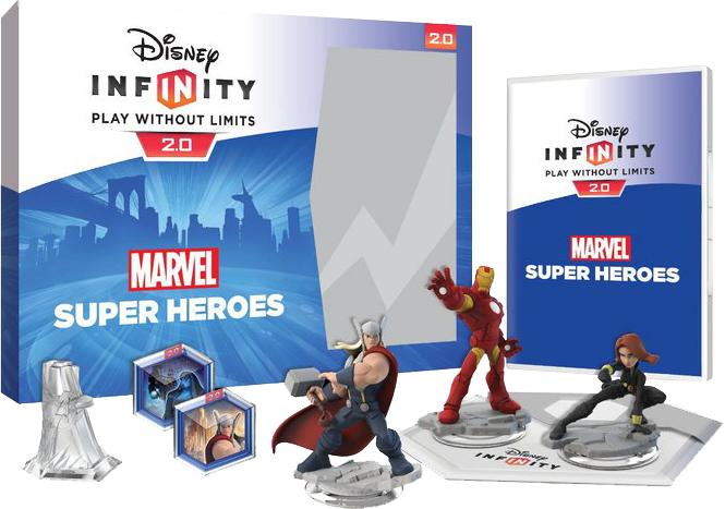 Pack de démarrage Disney Infinity 2.0: Marvel Super Heroes sur Xbox One (Frontaliers Suisse)