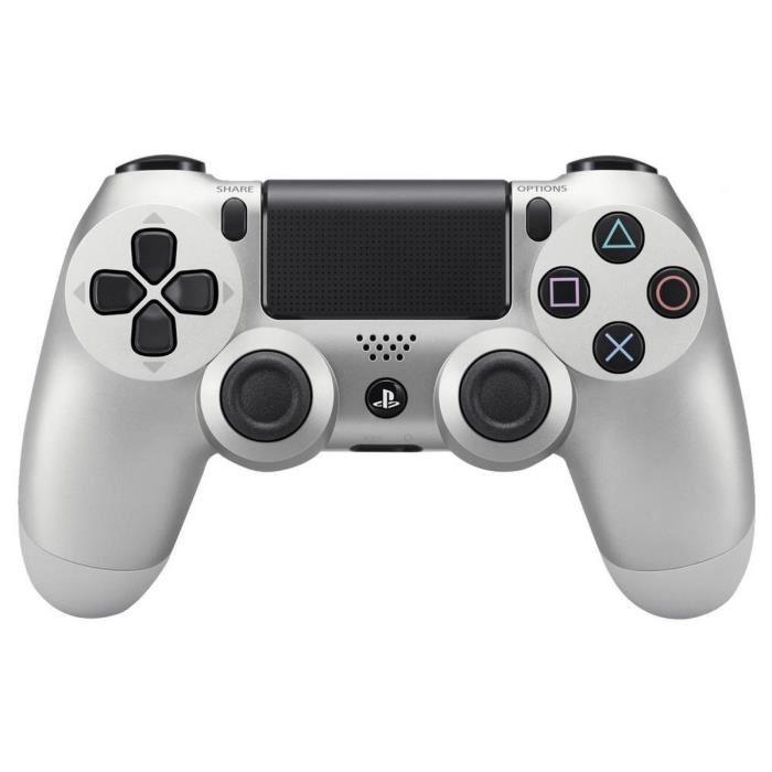 Manette Sony DualShock 4  V2 - Argent