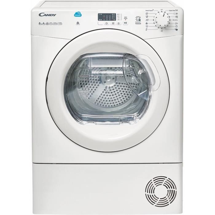 Sèche linge à condensation (Pompe à chaleur) Candy CSH8A1LE