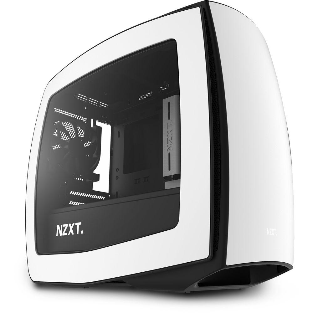 Boitier PC gamer NZXT Manta Blanc Fenêtre (Mini-ITX)