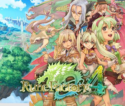 Rune Factory 4 sur Nintendo 3DS (Dématérialisé)