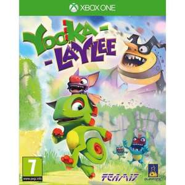 Jeu Xbox One Yooka-Laylee