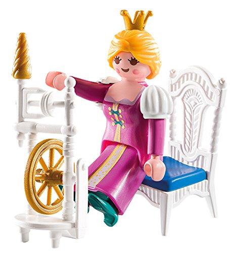 [Panier plus] Jouet Playmobil - Princesse Belle au bois dormant (avec accessoires de couture)