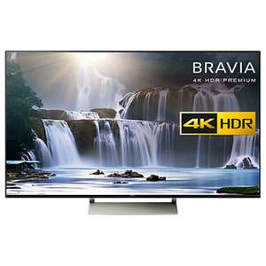 "TV 65"" SONY KD-65XE8596 BAEP  - ULTRA HD 4K"