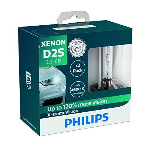 Ampoules Xénon D2S Philips X-tremeVision +120% (Gen1, Pack de 2)