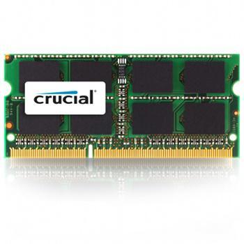 Barrette de RAM Crucial SODIMM DDR3 PC3-10600 CL9 - 2 Go