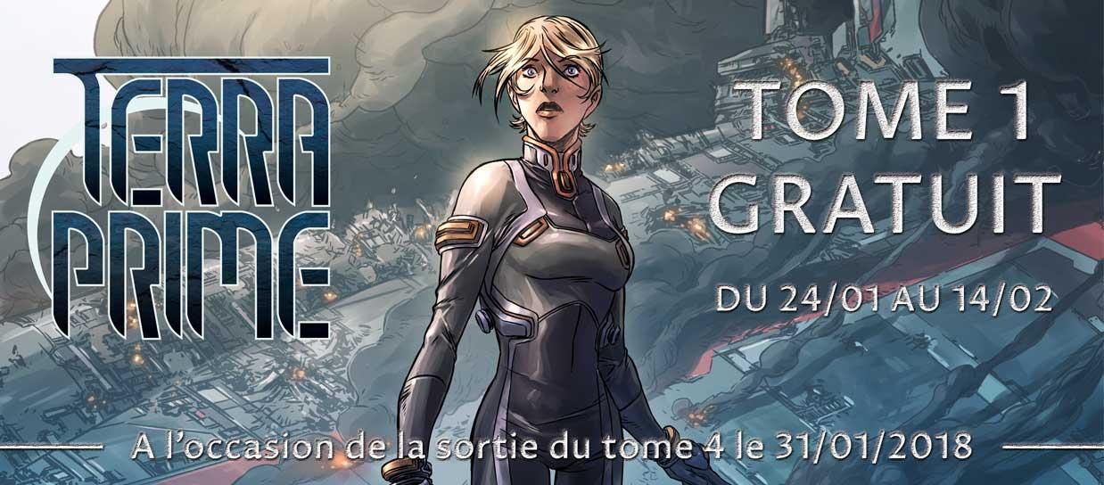 BD Terra Prime - Tome 1 Gratuit (numérique)