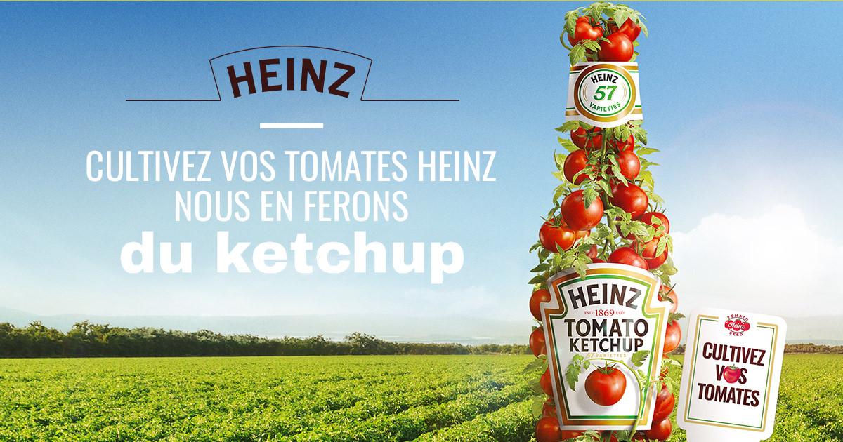 100 sachets de graines de tomates Heinz offerts chaque jour