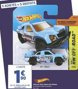 10 Voitures Hot Wheels - Oyonnax (01)