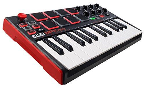 Clavier maître MIDI Akai MPK mini MKII - noir / rouge