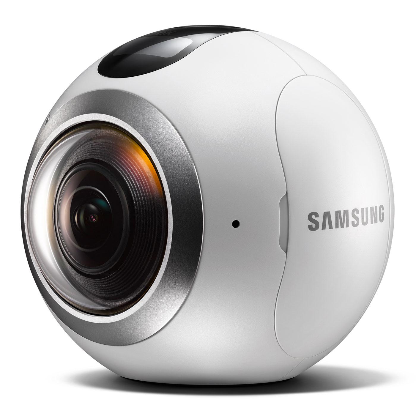 Caméra Samsung Gear 360 - Blanc