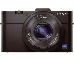 Appareil photo compact Sony Cyber-shot DSC-RX100 Mark II (20.2 Mpix, CMOS) + étui de protection + carte SDHC (8 Go) à la Fnac Bayonne (64)