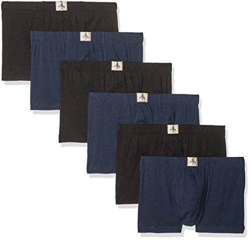 Lot de 6 boxers Esprit - bleu / noir (du S au XXXL)