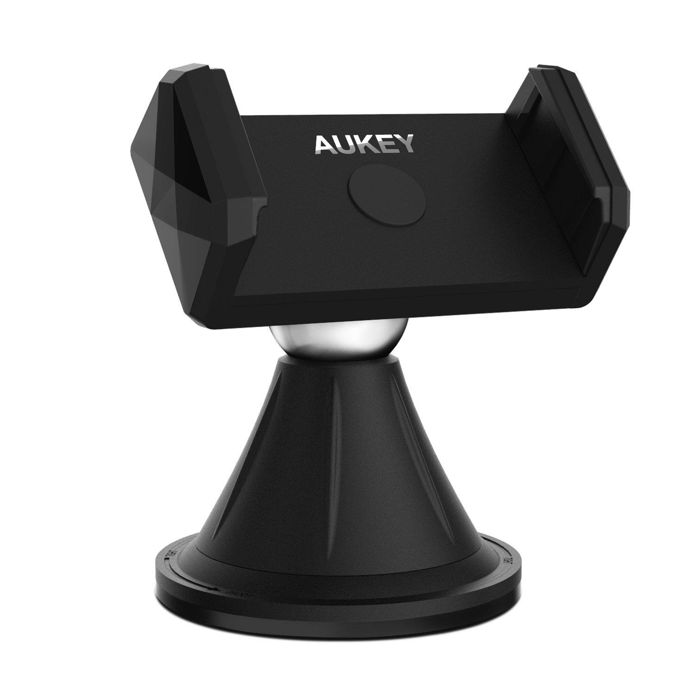 Support universel auto pour smartphone Aukey - noir (vendeur tiers)